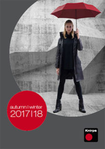 Каталог зонтов Knirps осень-зима 2017-2018
