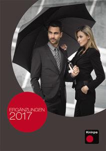 Дополнительный каталог зонтов Knirps 2017