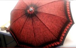 "Knirps. Compact Speed-O-Matic Umbrella ""Rainbow"" 1966"