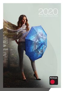 Каталог зонтов Knirps Осень-Зима 2020-2021